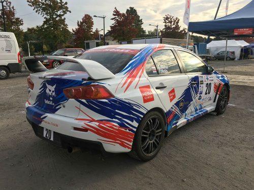 Mitsubishi Lancer Evo X Rallye International Top Spec Group N Rcfs