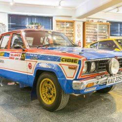 1979 Datsun Stanza PA-10 Nissan Ex-Works Rally Car