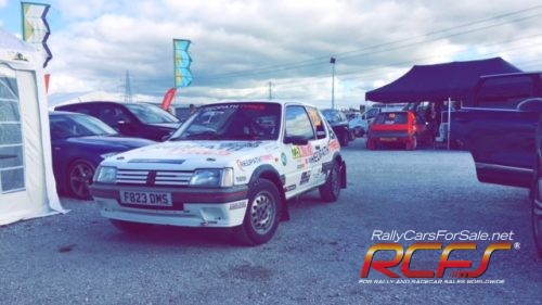 Peugeot 205 1.6 GTI rally car - very clean, reliable car. * Price ...