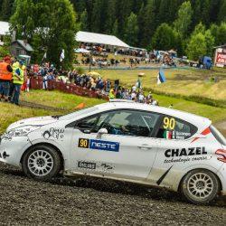 Finland Rally WRC 2017 - Accornero / Chazel