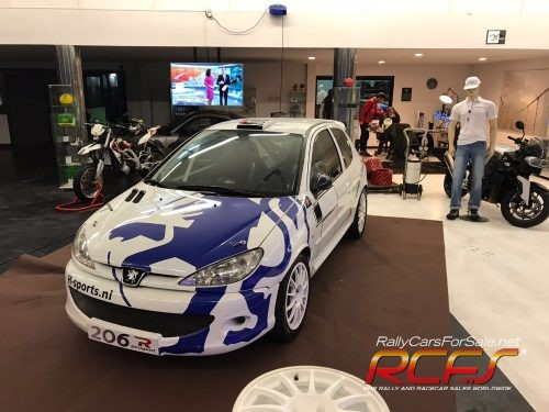 PEUGEOT 206 GROUP A OFFICIAL CAR - RCFS
