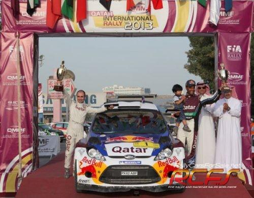 Qatar Rally 1st overall