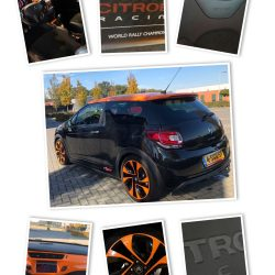 Citroen DS3 racing collage