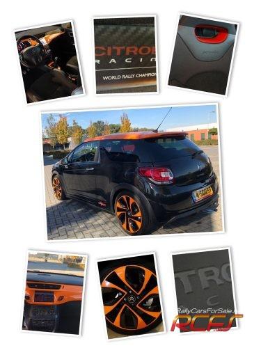 Citroen DS3 racing collage