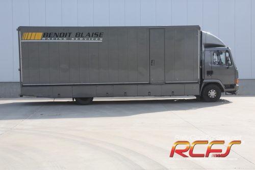 camion flanc droit