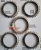 # 402- 1255.304.639 - Steel  Synchro Rings Set - 5 pieces
