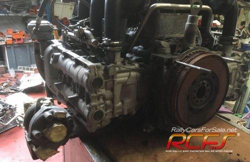 Porsche 996 twin turbo engine 1