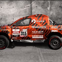 Toyota Hilux Overdrive livery - side(2)