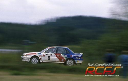 MCKLEIN-Mickael-Eriksson-Mitsubishi-Galant-VR4-1989-Rally-Finland